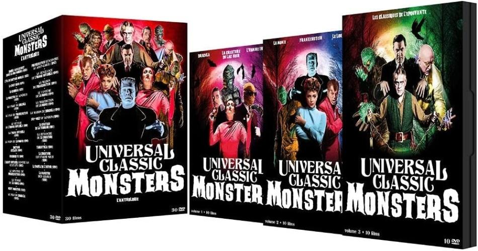 Universal Classic Monsters - L'Anthologie - 30 Films (30 DVDs)