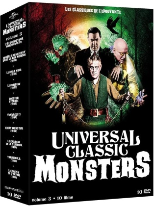 Universal Classic Monsters - Volume 3 - 10 Films (10 DVDs)