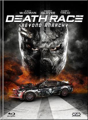 Death Race 4 - Beyond Anarchy (2016) (Cover A, Limited Edition, Mediabook, Uncut, Blu-ray + DVD)