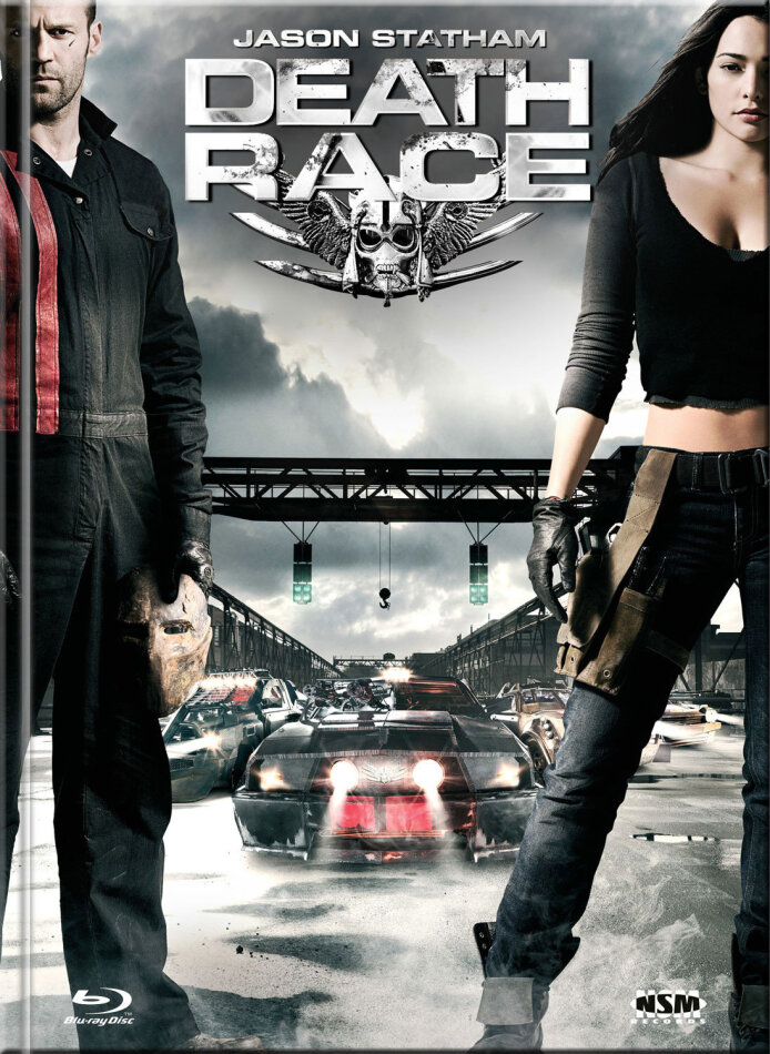 Death Race (2008) (Cover A, Extended Edition, Limited Edition, Mediabook, Blu-ray + DVD)