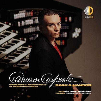 Cameron Carpenter, Johann Sebastian Bach (1685-1750) & Howard Hanson (1896-1981) - Bach & Hanson