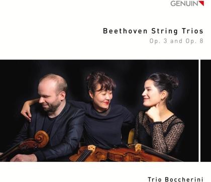 Trio Boccherini & Ludwig van Beethoven (1770-1827) - String Trios op. 3 & op. 8