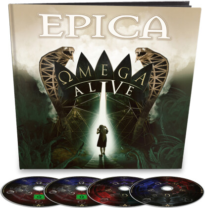 Epica - Omega Alive (Limited Earbook, 2 CDs + Blu-ray + DVD)