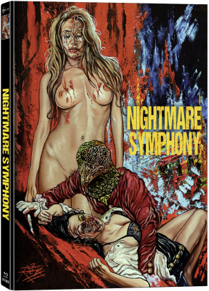 Nightmare Symphony (2020) (Cover B, Limited Edition, Mediabook, Blu-ray + DVD)