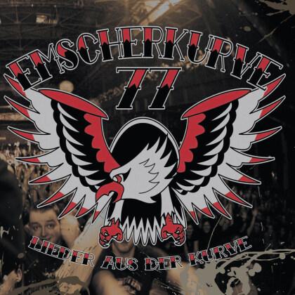 Emscherkurve 77 - Lieder Aus Der Kurve (2021 Reissue, Limited Edition, Silver/Red/Blue Vinyl, 2 LPs)