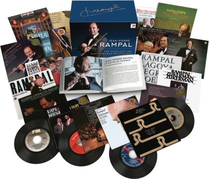 Jean-Pierre Rampal - Complete Cbs Masterworks Recordings (Box, 56 CDs)