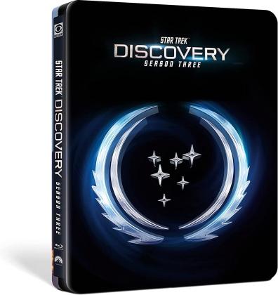 Star Trek: Discovery - Saison 3 (Limited Edition, Steelbook, 4 Blu-rays)