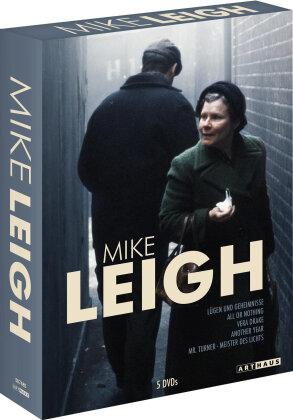 Mike Leigh - Lügen und Geheimnisse / All or nothing / Vera Drake / Another Yeear / Mr. Turner - Meister des Lichts (5 DVDs)