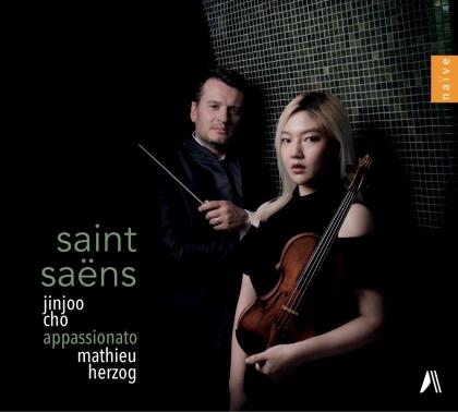 Camille Saint-Saëns (1835-1921), Mathieu Herzog & Jinjoo Cho - Oeuvres pour Violon et Orchestre
