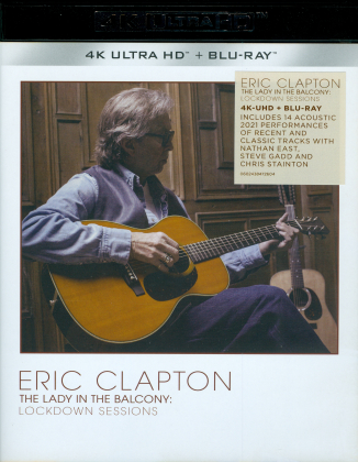 Eric Clapton - The Lady in the Balcony: Lockdown Sessions (Limited Edition, 4K Ultra HD + Blu-ray)