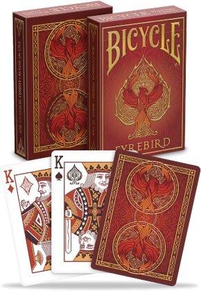 Bicycle Fyrebird (Spielkarten)