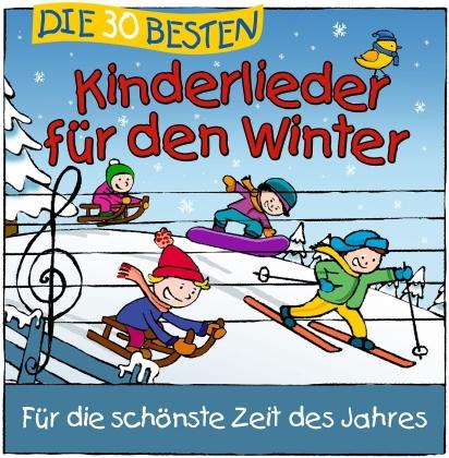 S. Sommerland, K. Glück & Die Kita-Frösche - Die 30 Besten Kinderlieder Für Den Winter