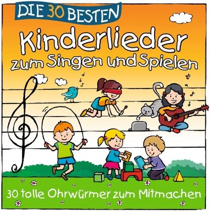 S. Sommerland, K. Glück & Die Kita-Frösche - Die 30 Besten Kinderlieder Zum Singen Und Spielen
