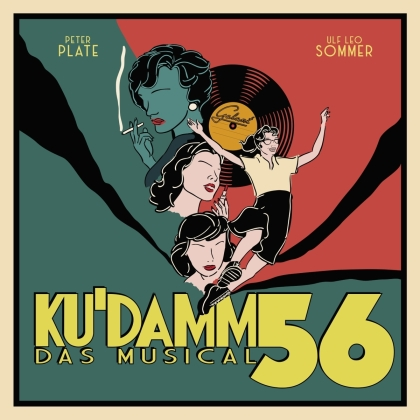 Peter Plate (Rosenstolz) - Ku'damm 56 - Das Musical (2 LPs)