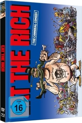 Eat the Rich (1987) (Cover A, Édition Limitée, Mediabook, Blu-ray + DVD)