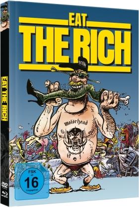 Eat the Rich (1987) (Cover B, Édition Limitée, Mediabook, Blu-ray + DVD)