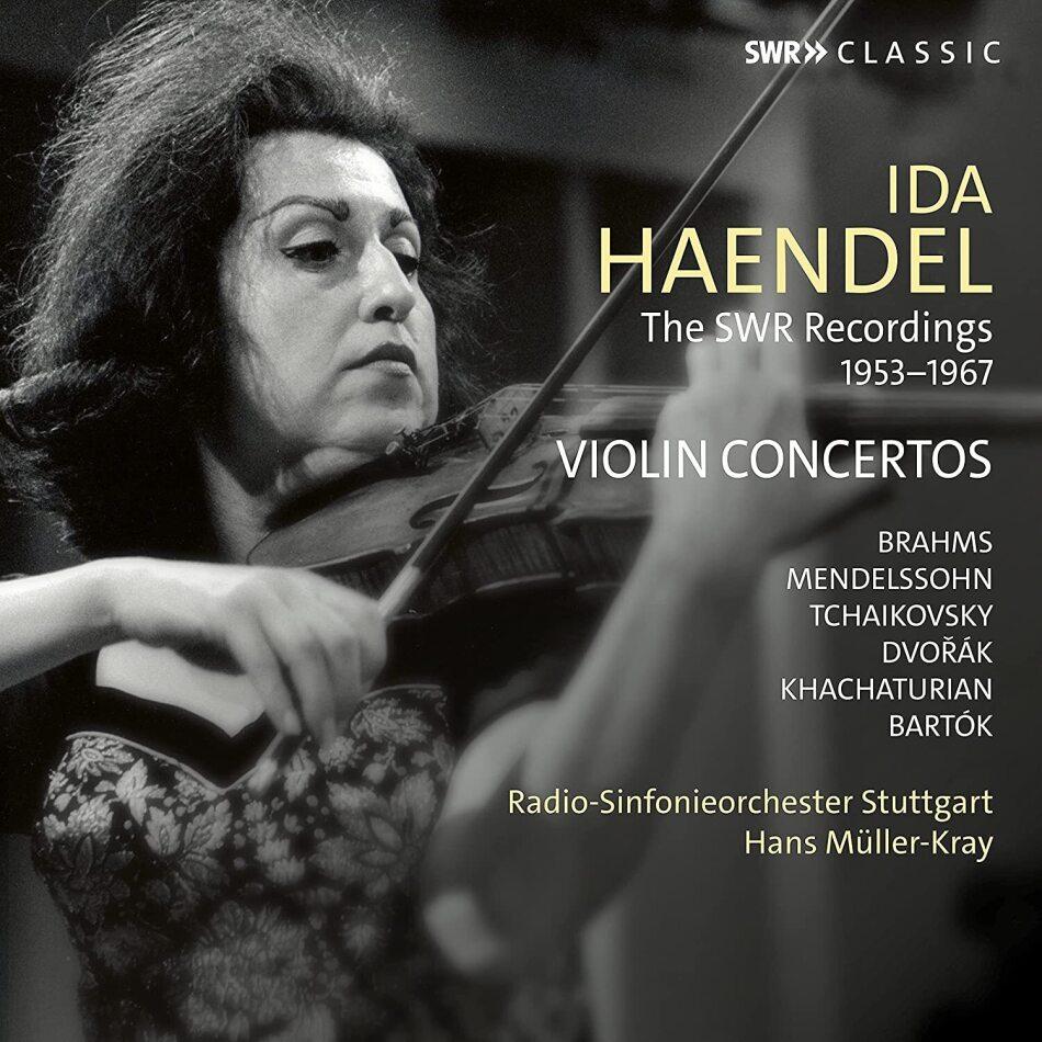 Hans Müller-Kray, Ida Haendel & Radio-Sinfonieorchester Stuttgart - SWR Recordings 1953-1967 (3 CDs)