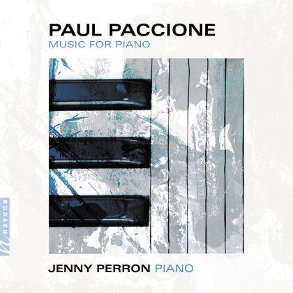 Paul Paccione & Jenny Perron - Music For Piano