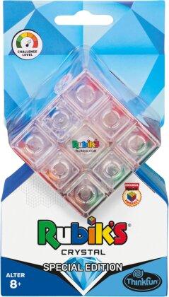 ThinkFun - 76473 - Rubik's Crystal - Der transparente Rubik's Cube, Ein Sammlerstück und Denkspiel für Erwachsene und Kinder ab 8 Jahren