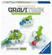 Ravensburger GraviTrax Erweiterung Push - Ideales Zubehör für spektakuläre Kugelbahnen, Konstruktionsspielzeug für Kinder ab 8 Jahren