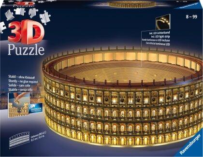 Ravensburger 3D Puzzle Kolosseum in Rom bei Nacht 11148 - leuchtet im Dunkeln