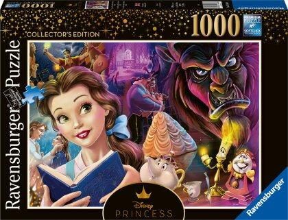 Ravensburger Puzzle 16486 - Belle, die Disney Prinzessin - 1000 Teile Disney Puzzle für Erwachsene und Kinder ab 14 Jahren
