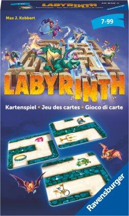Ravensburger® - Labyrinth Kartenspiel 20849 - Der Familienklassiker für 2 - 6 Spieler - Spiel für Kinder ab 7 Jahren