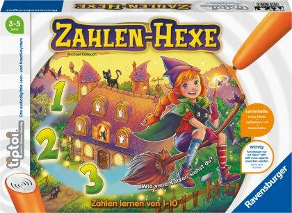 Ravensburger tiptoi Spiel 00098 Zahlen-Hexe - Zählen lernen von 1-10 für Kinder ab 3 Jahren