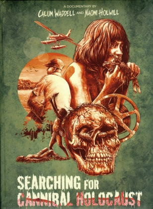Searching for Cannibal Holocaust (2021) (Wattiert, Limited Edition, Mediabook, Blu-ray + DVD)