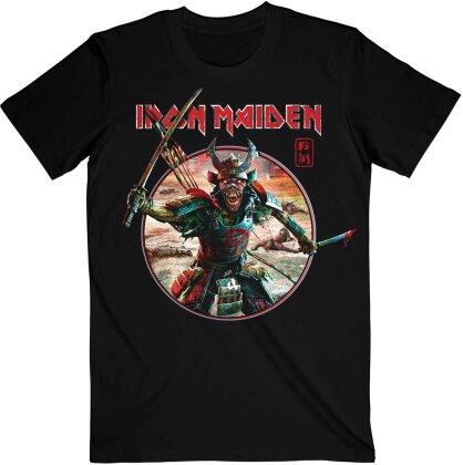 Iron Maiden - Eddie Warrior Circle T-Shirt - Grösse M