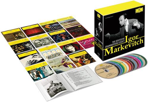 Igor Markevitch - Deutsche Grammophon Legacy (Eloquence Australia, Limited Edition, 21 CDs)