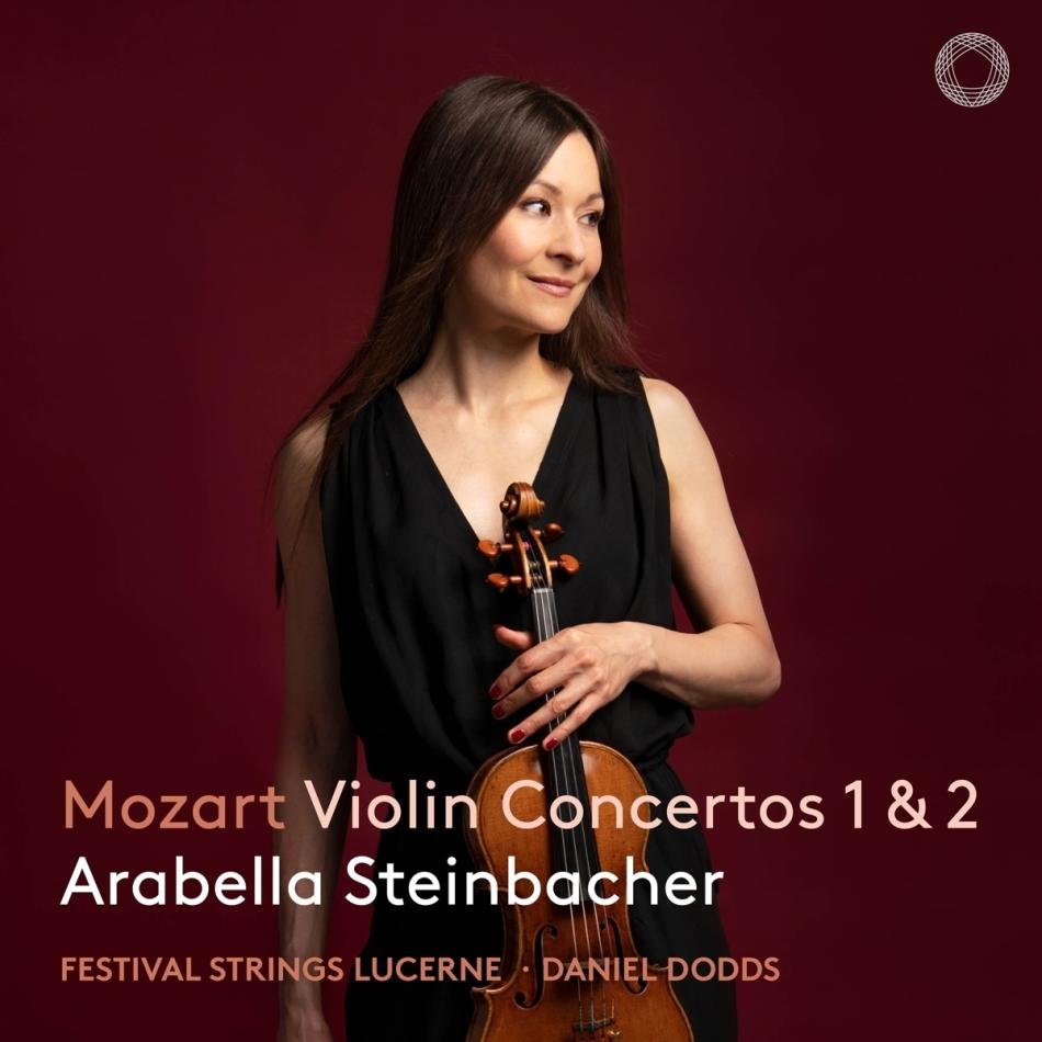 Wolfgang Amadeus Mozart (1756-1791) & Arabella Steinbacher - Violin Concertos 1 & 2