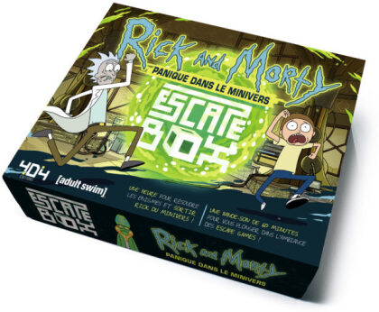 Jeu de société - Escape Box - Rick et Morty