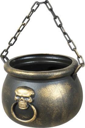 Skull Kessel Deko