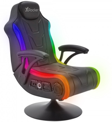 X Rocker Monsoon RGB 4.1 Stereo Audio Gaming Chair with Vibrant LED Lighting (PlayStation 5 + Xbox Series X)