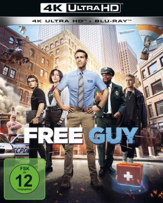 Free Guy (2021) (4K Ultra HD + Blu-ray)