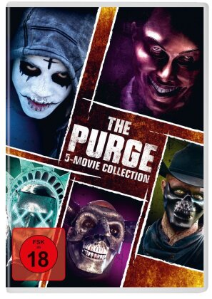 The Purge 1-5 - 5-Movie-Collection (5 DVDs)