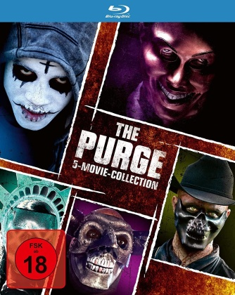 The Purge 1-5 - 5-Movie-Collection (5 Blu-rays)
