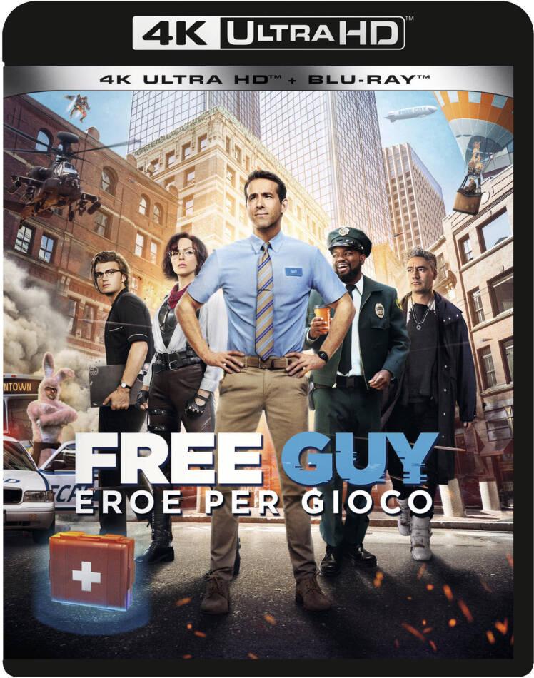 Free Guy - Eroe per gioco (2021) (4K Ultra HD + Blu-ray)