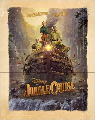 Jungle Cruise (2021) (Limited Edition, Steelbook, 4K Ultra HD + Blu-ray)
