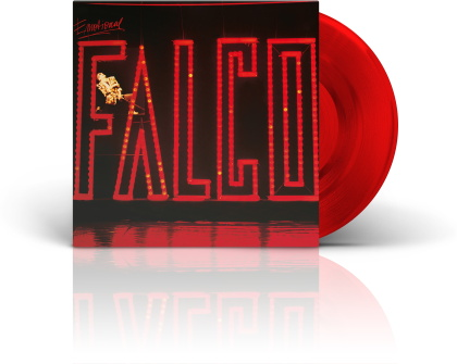 Falco - Emotional (2021 Reissue, Limited Edition, Remastered, Red Vinyl, LP)
