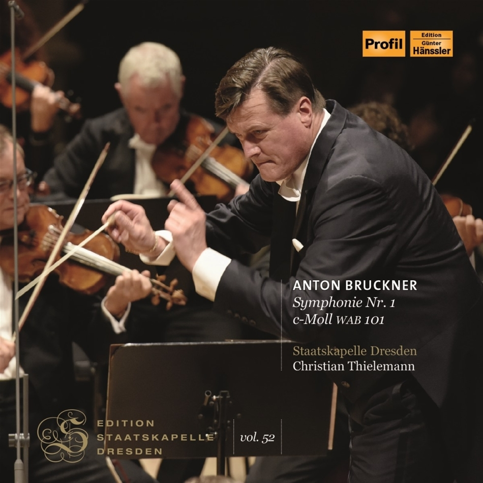 Staatskapelle Dresden, Anton Bruckner (1824-1896) & Christian Thielemann - Symphonie Nr 1 C Moll