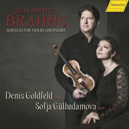Johannes Brahms (1833-1897), Denis Goldfeld & Sofja Gülbadamova - Sonatas For Violin & Piano