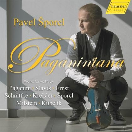 Pavel Sporcl - Paganiniana