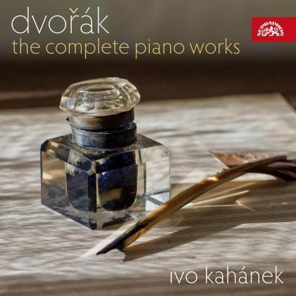 Antonin Dvorák (1841-1904) & Ivo Kahanek - Complete Piano Works (4 CDs)