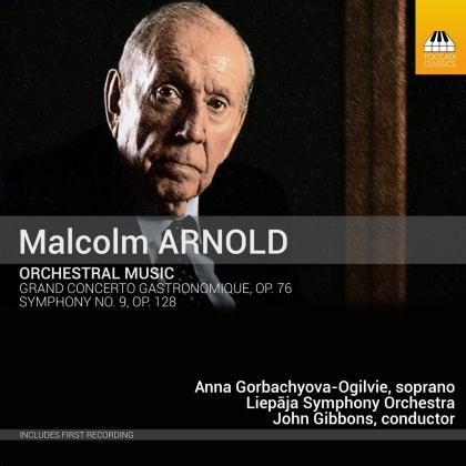 Liepaja Symphony Orchestra, Sir Malcolm Arnold (1921-2006), John Gibbons & Anna Gorbachyova-Ogilvie - Orchestral Music