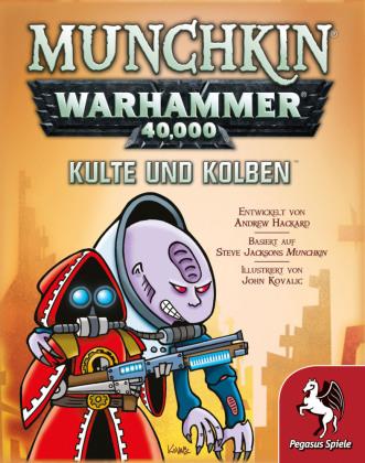 Munchkin Warhammer 40.000 - Kulte und Kolben (Spiel-Zubehör)