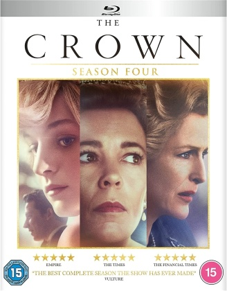 The Crown - Season 4 (4 Blu-rays)