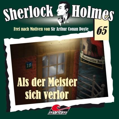 Sherlock Holmes - Folge 65 - Als der Meister sich verlor