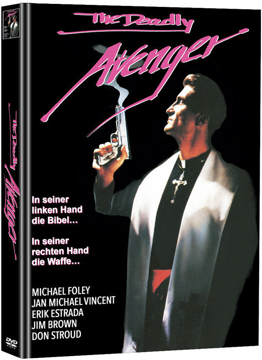 The Deadly Avenger (1992) (Cover A, Limited Edition, Mediabook, Uncut, 2 DVDs)